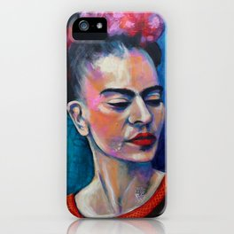 Je te ciel, hommage à Frida Kahlo iPhone Case