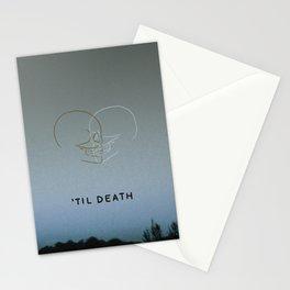 'Til Death Stationery Cards