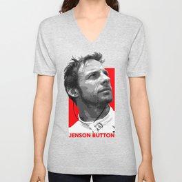 Formula One - Jenson Button Unisex V-Neck