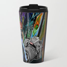 FUNKYTOWN (featuring Sancha McBurnie as a model, along with her photography work) Travel Mug