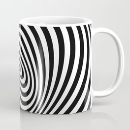 T Shirt Texture Zebra Stripes Printed Tops Tees Graphics Pattern Coffee Mug