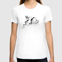 doberman T-shirts featuring doberman by vasodelirium
