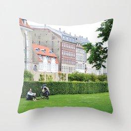 It's summer time Throw Pillow