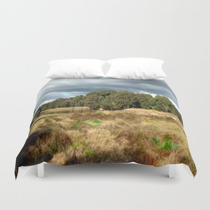 Swamp - Heritage Trail Duvet Cover