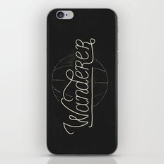 Wanderer iPhone & iPod Skin