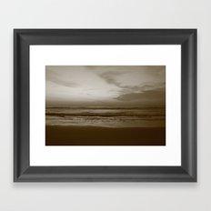 Lost Dark Sea Framed Art Print