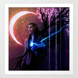 Prince of Nightmares Art Print