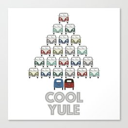 wishing you a cool yule this Christmas time! Canvas Print