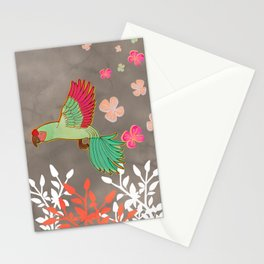 Guacamayas (Macaws) - (red.peach.green) Stationery Cards