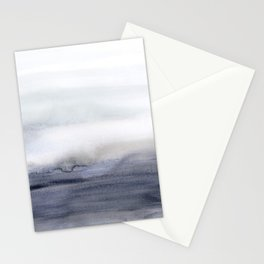 Foggy Morning / Minimalist Abstract Watercolor Stationery Cards