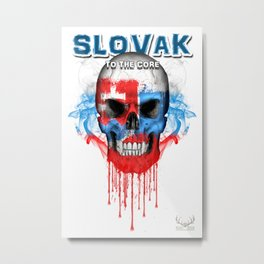 To The Core Collection: Slovakia Metal Print