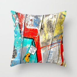 The Important Thing Throw Pillow