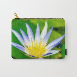 Flower macro Carry-All Pouch
