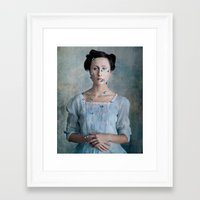 valentina Framed Art Prints featuring Valentina by Maria Kanevskaya