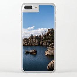 Sylvan Lake, South Dakota Clear iPhone Case