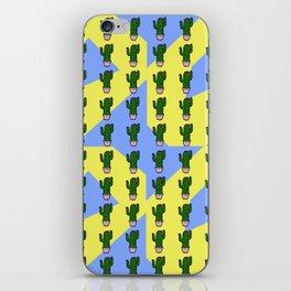 Cactus Pattern 2 iPhone Skin