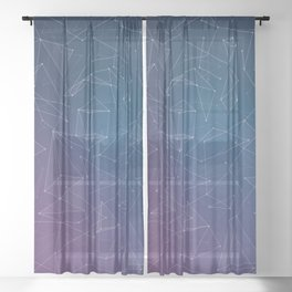 Linear Space Sheer Curtain