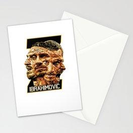 Zlatan Ibrahimovic (Four Faces) - Exposure Stationery Cards