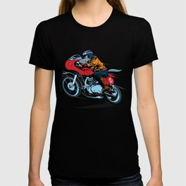 Wolf caferacer T-shirt