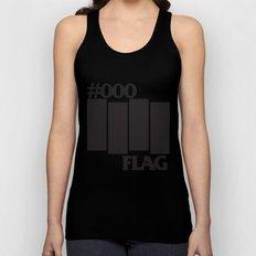 #000 Flag Unisex Tank Top