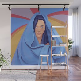 The Veiled Woman Wall Mural
