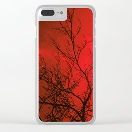 Bare Beech Clear iPhone Case