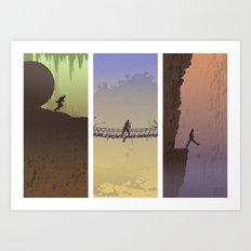 Fortune & Glory Art Print