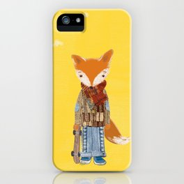 Fox Boy iPhone Case