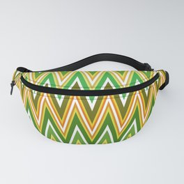 Sawtooth wave in retro colors Fanny Pack