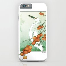 Egret and Persimmons iPhone 6 Slim Case