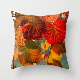 Autumn leaves 1 Throw Pillow