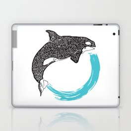 Orca Circle Laptop & iPad Skin