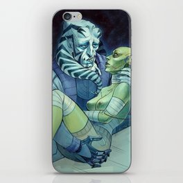 Velenis and his Monster Bride iPhone Skin