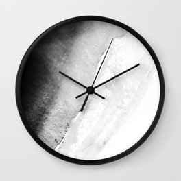 Waves in beach Wall Clock