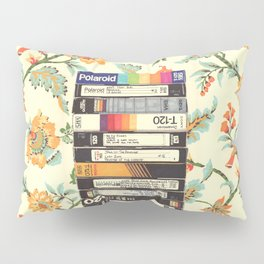 VHS & Entry Hall Wallpaper Pillow Sham