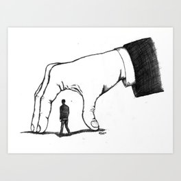 Main Invisible Art Print