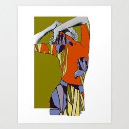 EBD Floral Illustration 2 Art Print