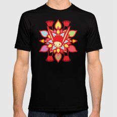 LOTUS HOLIC MEDIUM Mens Fitted Tee Black