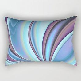 Abstract Fractal Colorways 02PrBl Rectangular Pillow