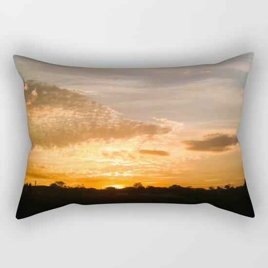 Where the sun rises Rectangular Pillow