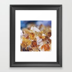 Citrine Light Framed Art Print