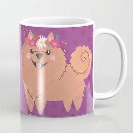 Pomeranian Princess Coffee Mug