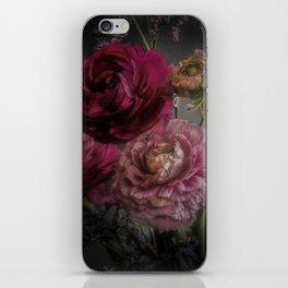 Ranunculus and Romance iPhone Skin
