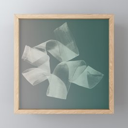 Abstract forms 15 Framed Mini Art Print