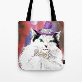 The Oreo Cat: Cat in a hat Tote Bag