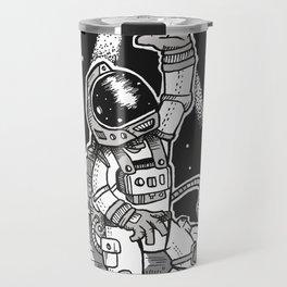 Spaceman Grey Travel Mug