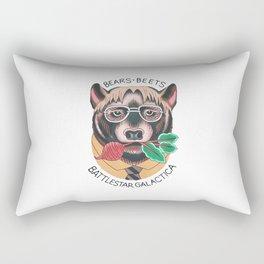 Bears beets Rectangular Pillow