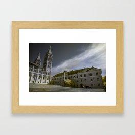Pécs, Hungary Framed Art Print