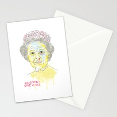 GOD SAVE THE QUEEN Stationery Cards