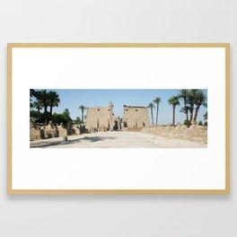 Temple of Luxor, no. 11 Framed Art Print